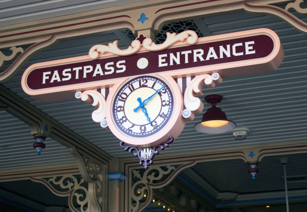 Toy Story Midway Mania now has Fastpass at Disney California Adventure. (Photo by Mark Eades, Orange County Register/SCNG) Taken in Anaheim at Disney California Adventure on Wednesday, April 5, 2017.