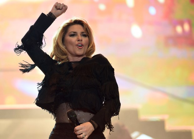 Country music superstar Shania Twain headlined the second day of the annual three-day Stagecoach Country Music Festival at the Empire Polo Club in Indio in April. (Photo by Will Lester, Inland Valley Daily Bulletin/SCNG)