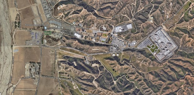 Electrical problems stemming from the Rye fire in the Santa Clarita area are curtailing visits at the Pitchess Detention Center in Castaic, it was reported Friday, Dec. 8, 2017. (Google Maps)