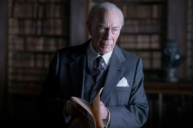 "This image released by Sony Pictures shows Christopher Plummer in a scene from ""All the Money in the World."" (Giles Keyte/Sony Pictures via AP)"