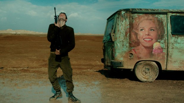 """A scene from """"Foxtrot,"""" Israel's Foreign Language Oscar entry. Courtesy Sony Pictures Classics."""