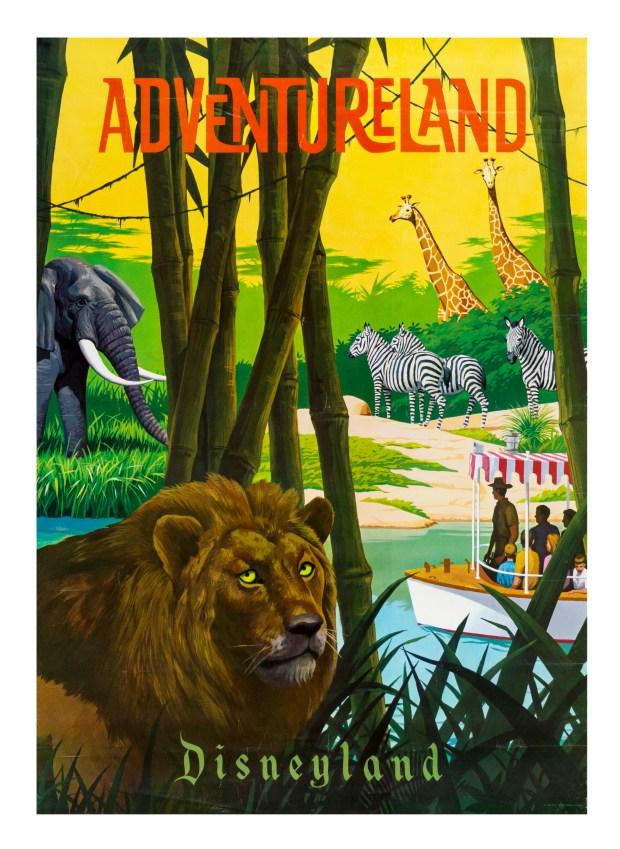 Lot 323 Adventureland Attraction Poster