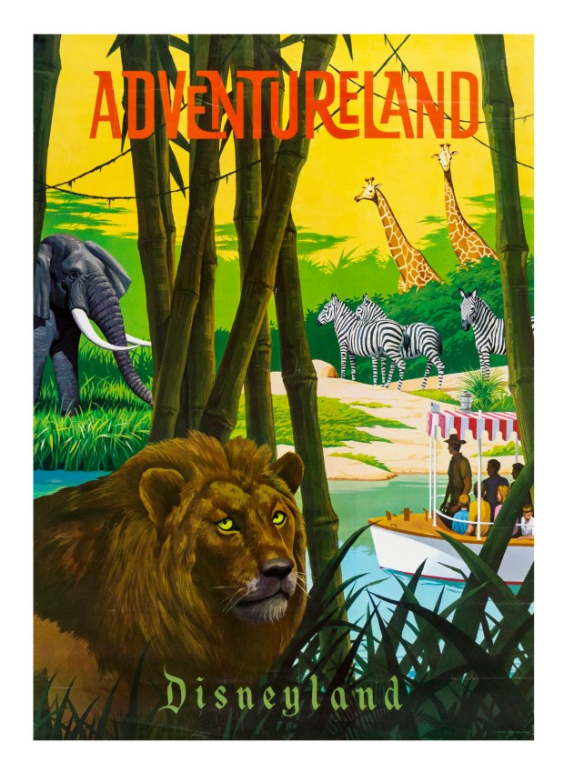 Lot 323 Adventureland Attraction Poster