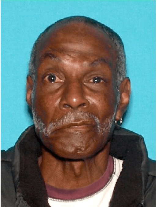 Melvin Augustus Jones, 72, was last seen at 3:30 p.m. Sunday, Dec. 24, 2017, leaving the Royal Palms Convalescent Home in Glendale. He was in a wheelchair and was seen getting on a bus. (Photo courtesy of the Glendale Police Department)