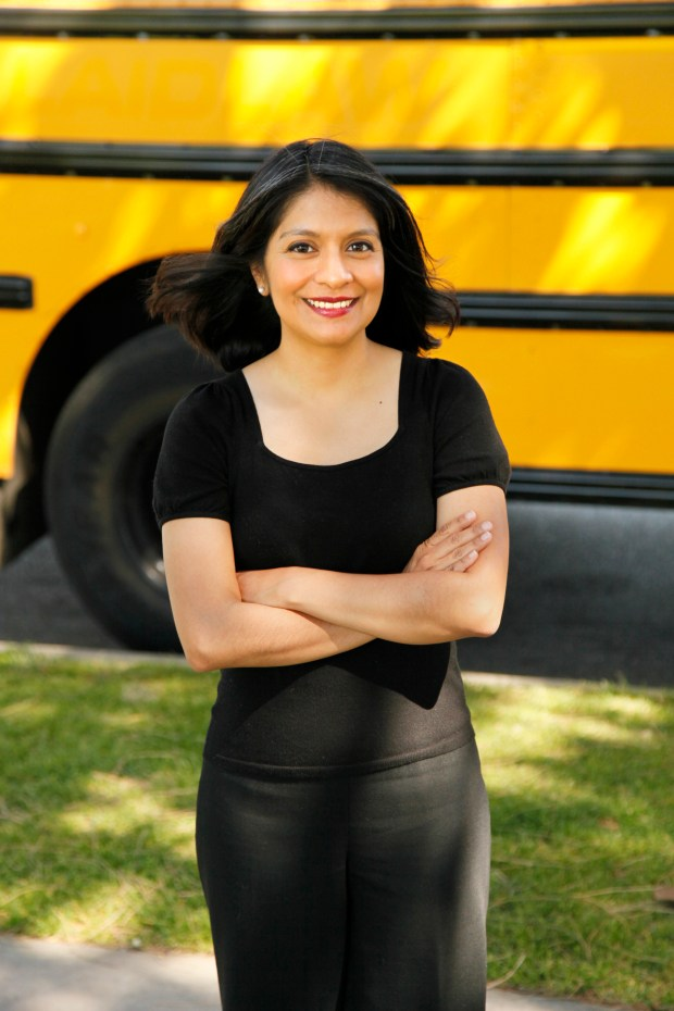 Annie Ortega, education director for the Anti-Defamation League's Pacific Southwest region