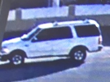 The Riverside County Sheriff's Department is seeking this vehicle in connection with the robbery of a U.S. Postal Service mail carrier in Jurupa Valley on Dec. 9, 2017. This suspect vehicle was videotaped in the area. (Courtesy of Riverside County Sheriff's Department)