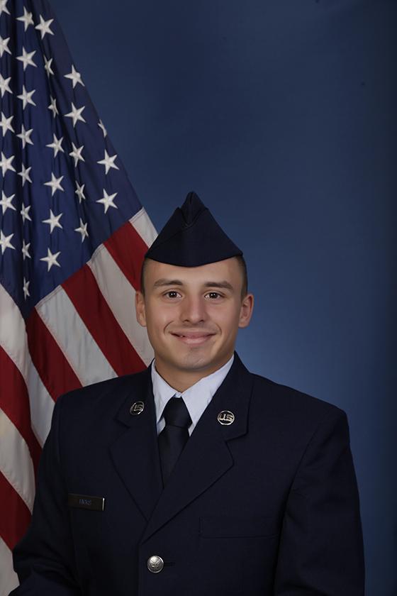 U.S. Air Force Airman 1st Class Jaeden B. Hicks