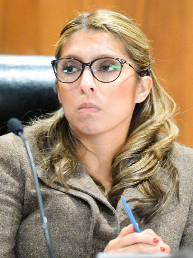 Montebello Councilwoman Vanessa Delgado was elected mayor during the City Council meeting Dec. 13, 2017. (Photo by Keith Durflinger/Whittier Daily News/SCNG taken Nov. 2, 2016.)