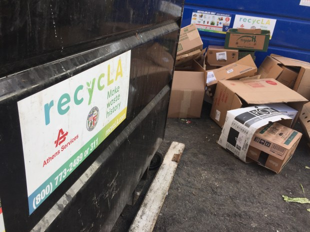 Many folks are furious that trash fees are spiking for many businesses and multi-unit residential buildings in the city of Los Angeles as a result of the city's new waste removal system known as RecycLA. Chuck Bennett/Daily Breeze/SCNG