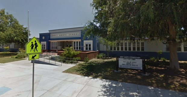 Bret Harte Elementary School, 3200 Jeffries Ave., Burbank (Google Street View)
