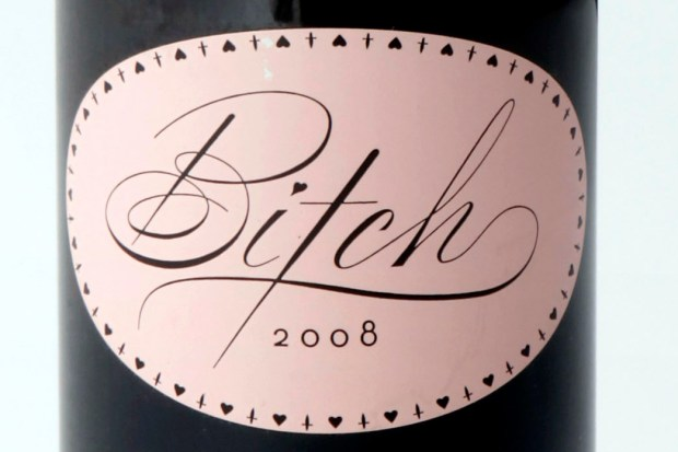 """Bitch, a provocatively named 100 percent Grenache from R Wines, has proven surprisingly popular and is considered good bang for the buck: """"About as good as it gets for $10,"""" wine guru Robert Parker announced. Give it to that special someone. (Photo courtesy of R Wines)"""