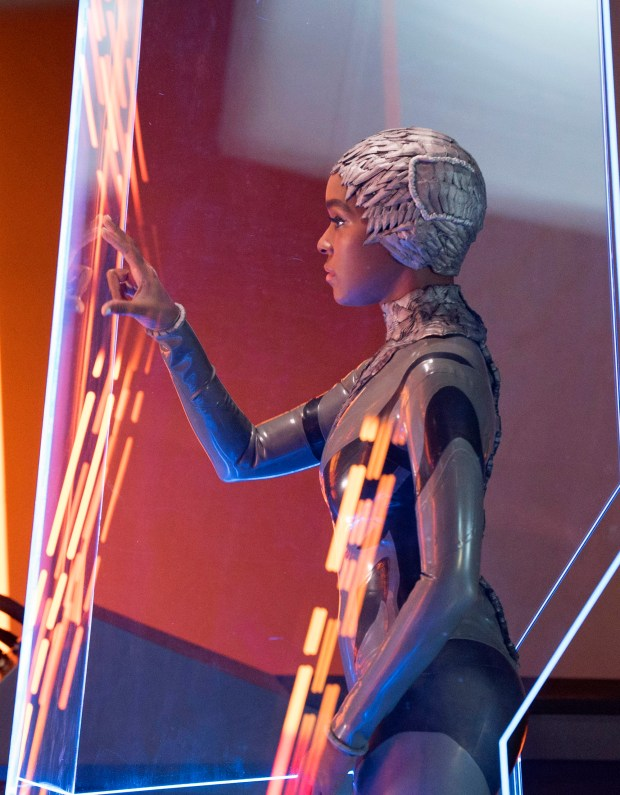 """Janelle Monae in """"Philip K. Dick's Electric Dreams in an episode """"Autofac."""" Series begins Friday on Amazon."""