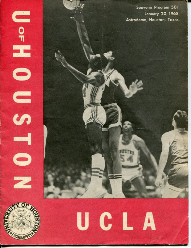 A program cover from the game.