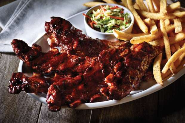 Applebee's is bringing back its popular all-you-can-eat riblets deal. (Photo courtesy Applebee's)