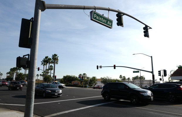The intersection of Whittier Blvd and Painter Ave. in Whittier, Calif., on Feb. 01, 2018. (Photo by Keith Birmingham, Pasadena Star-News/SCNG)