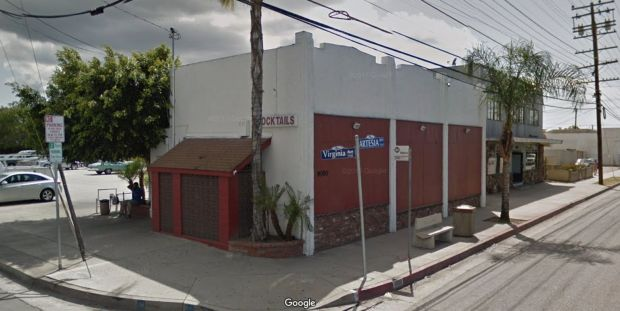 Sheriff's deputies are asking for the public's help in solving a double shooting at closing time on Feb. 3, 2018, at the Bottoms Up Bar, 9080 Artesia Blvd., Bellflower. One man was wounded, and another was killed. (Google Street View)