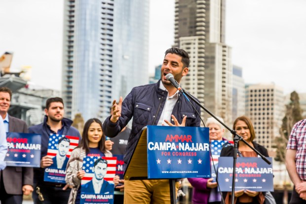 Democratic congressional candidate Ammar Campa-Najjar. (Courtesy photo)