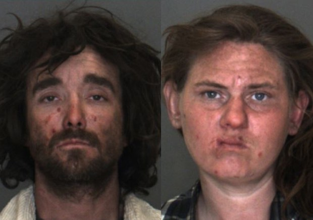 Roy Ling, 35, and Sara Wilson, 32, were arrested and charged with sexually abusing their son. (Courtesy San Bernardino County Sheriff's Department)