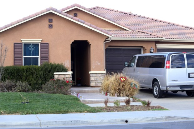 The Turpin home one month after the 17-year-old teen escaped and called authorities on her parents for allegedly torturing her siblings in Perris Monday, February 12, 2018. FRANK BELLINO, For THE PRESS-ENTERPRISE/SCNG