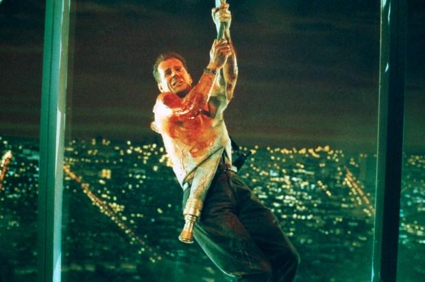 """Bruce Willis in 'Die Hard."""" (Peter Sorel, 20th Century Fox)"""