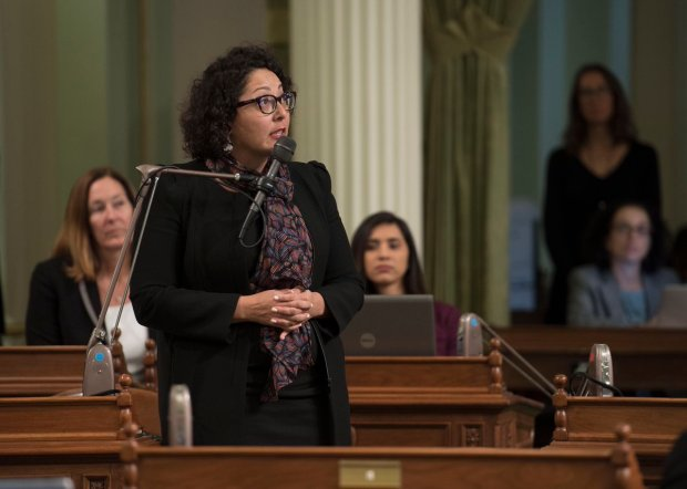 Assemblywoman Cristina Garcia, D-Bell Gardens, has announced she will take an unpaid leave from the state Legislature amid an investigation into sexual misconduct allegations. (Photo via Twitter)