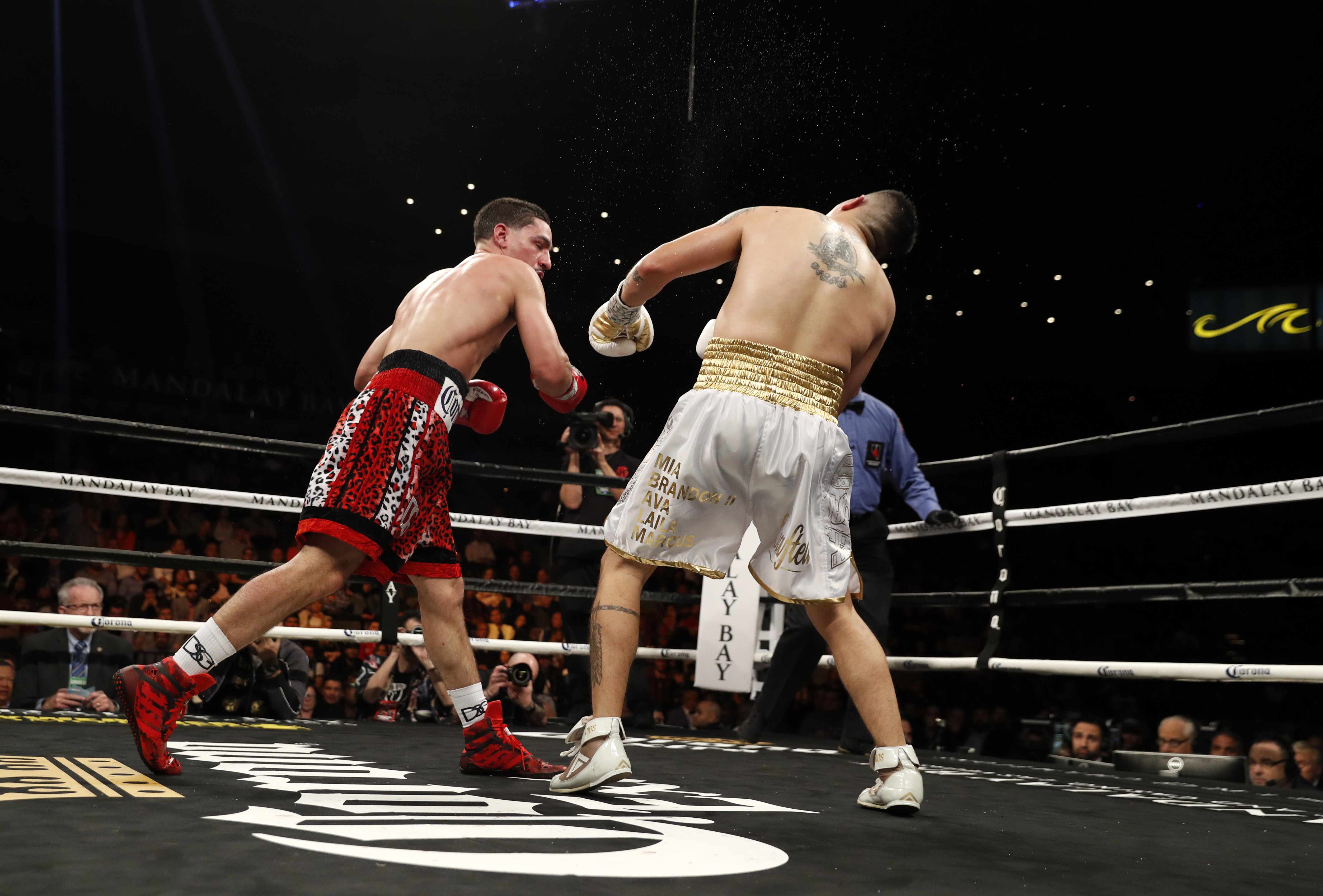 Danny Garcia Reacts To Knocking Out Brandon Rios