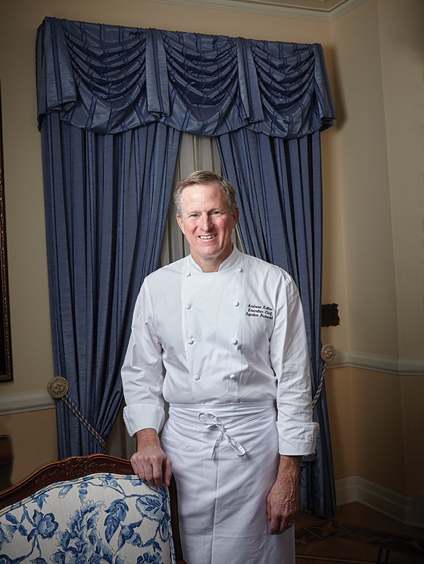 Chef Andrew Sutton, culinarydirector of Napa Rose, Carthay Circle Restaurant and Lounge, Club 33 and 21 Royal