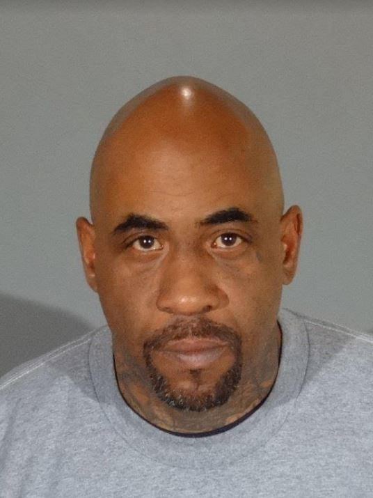 West Covina police arrested Robert Kirkwood, 43, of Compton on suspicion of car burglary and evading police after a chase that went from West Covina to Long Beach on Feb. 12, 2018. (Courtesy West Covina Police)