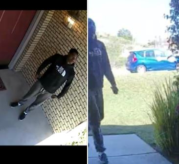 Police are asking the public's help to identify this suspected attempted burglar. (Photo courtesy of Riverside Police Department)