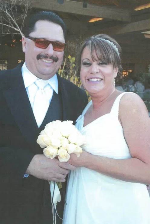 Shaun Reyna and his wife, Ana. (Courtesy of the Reyna family)