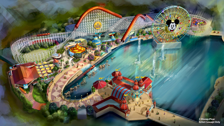 Disneyland Dumbo Ride 0114