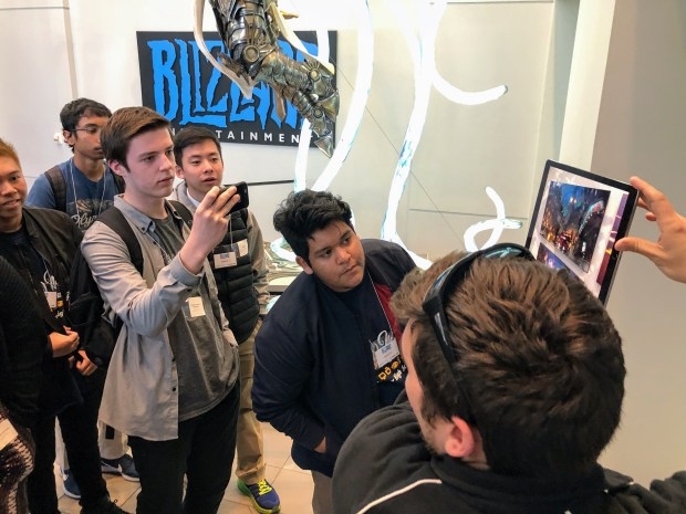 Teens Get Download On How To Land A Job At Gaming Giant Blizzard