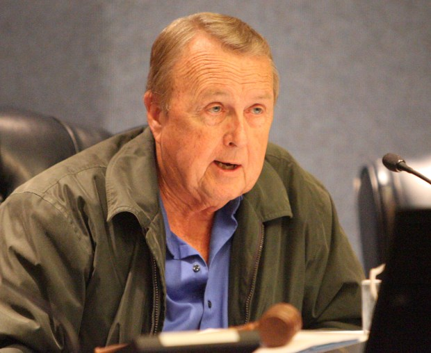 Whittier Councilman Bob Henderson in picture taken Nov. 22, 2011. (SGVN/Staff photo Leo Jarzomb
