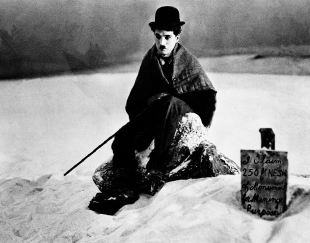 "Actor Charlie Chaplin is seen in the film ""The Gold Rush,"" 1925. (AP Photo)"