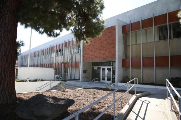 San Pedro Courthouse (1969-2013). File photo