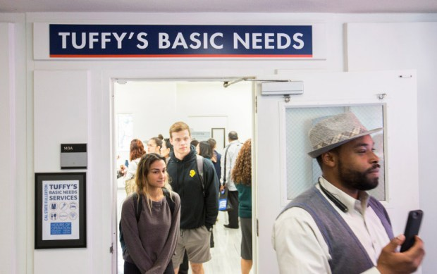 Tuffy's Basic Needs is housed in Room 143 of McCarthy Hall on the CSUF campus. (Photo courtesy of Cal State Fullerton)
