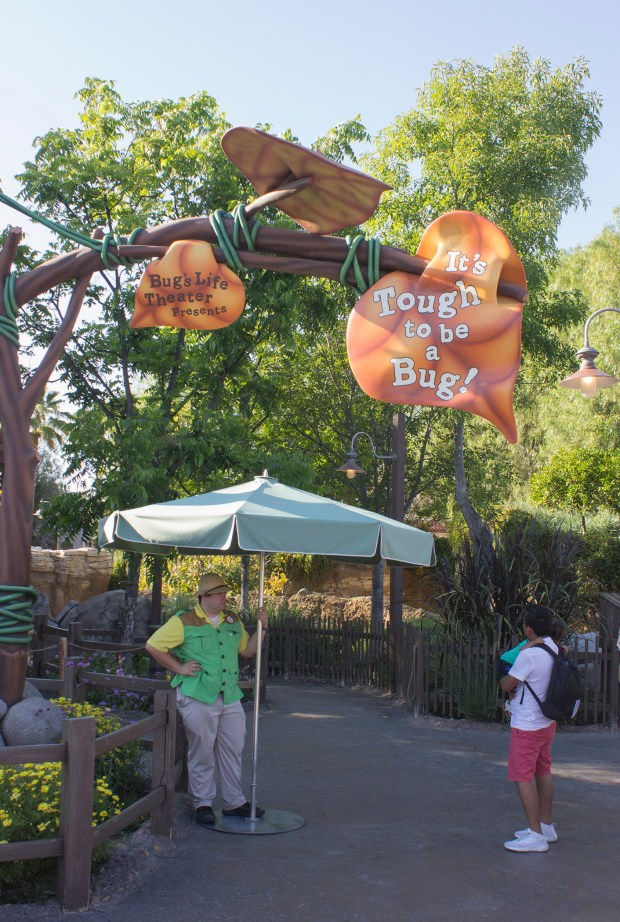 """It's Tough to be a Bug"" attraction at Disney California Adventure closed for good on Monday, March 18. This photo from 2015. MARK EADES, STAFF PHOTOGRAPHER"