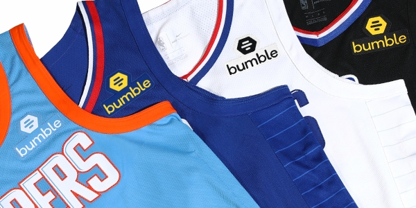 Dating app Bumble will pin its logo on the Clippers uniform a deal that is reportedly $20 million for three years.