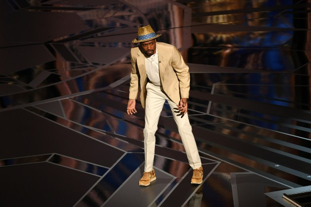 HOLLYWOOD, CA - MARCH 04: Actor Lakeith Stanfield speaks onstage during the 90th Annual Academy Awards at the Dolby Theatre at Hollywood & Highland Center on March 4, 2018 in Hollywood, California. (Photo by Kevin Winter/Getty Images)