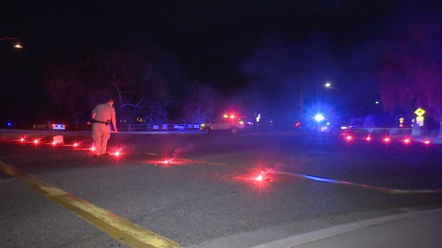 Deputies responded to a call around 10:25 p.m. about two people stabbed in the vicinity of Ortega Highway and La Novia Avenue , March 30. (Photo by Klick Photos)