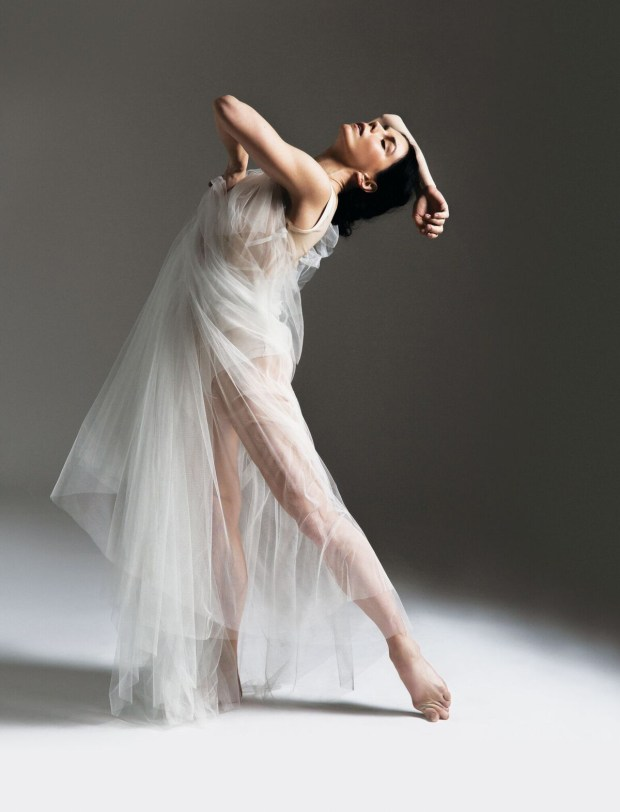 """Natalia Osipova stars as Isadora Duncan, a California native who revolutionized dance at the turn of the last century. Duncan won acclaim in Europe, moving the art form from the former language of ballet to a radical new vocabulary that emphasized modern movement and natural expression. """"Isadora"""" opens the Segerstrom Center for the Arts' 2018-19 season with four performances Aug. 10-12. (Photo courtesy of the Segerstrom Center for the Arts)"""
