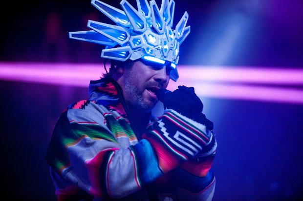 Jamiroquai performs in the Mojave tent during the first day of the Coachella Valley Music and Arts Festival at the Empire Polo Club in Indio on April 13, 2018. (Photo by Matt Masin, Contributing Photographer)