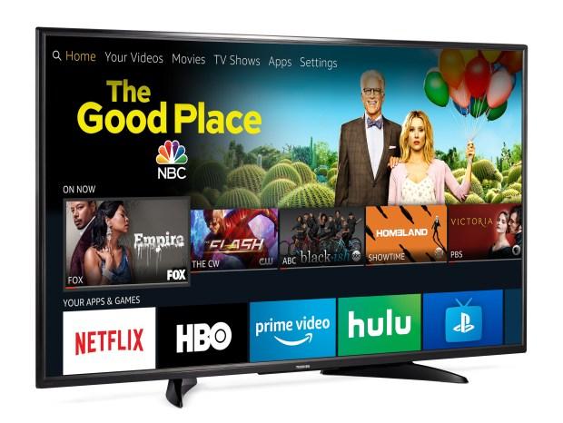 Toshiba 4K Ultra HD TV - Fire TV edition (Courtesy of Amazon)