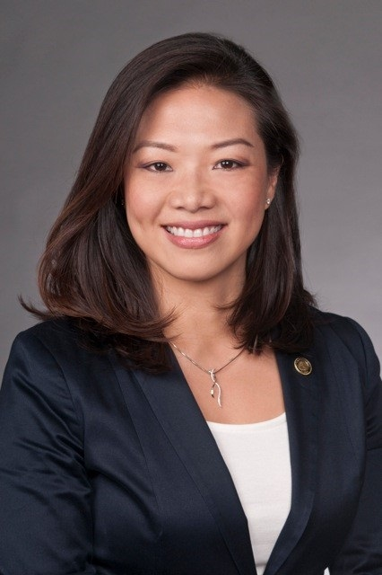 Newly named mayor of Palos Verdes Estates, Betty Lin Peterson. (Photo courtesy of PVE)
