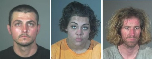 James Gideon (left), Samantha Morgan, and Billy Yeager (Courtesy of the Torrance Police Department)
