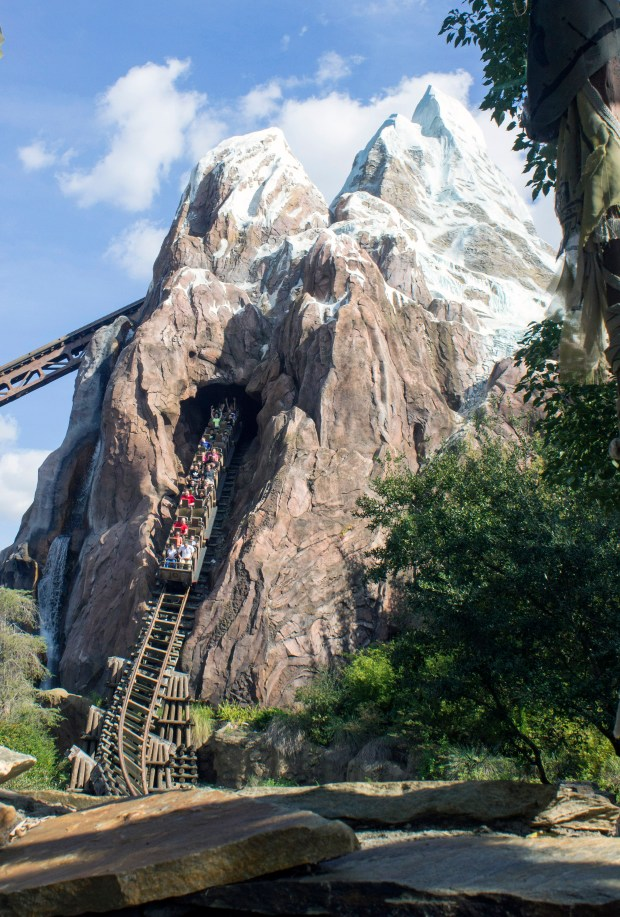 Expedition Everest is a high-speed roller coaster ride through and around Mount Everest at Disney's Animal Kingdom theme park in Walt Disney World. (File photo by Mark Eades, Orange County Register/SCNG)