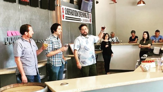 Liberation Brewing Company will open for business in Long Beach on Thursday. (Photo: Courtesy Liberation Brewing Co.)