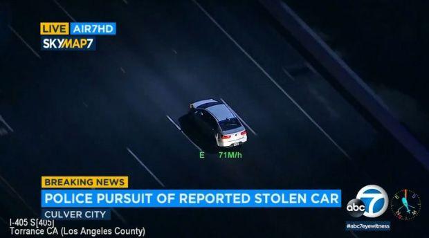 LA police, CHP pursue stolen vehicles, including a city ambulance