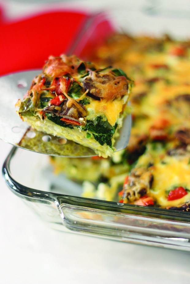 Veggie and Potato Breakfast Casserole