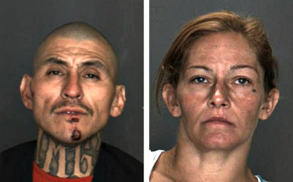 Arturo Flores, left, and Deborah Daniel. (Photos courtesy of Colton Police Department)